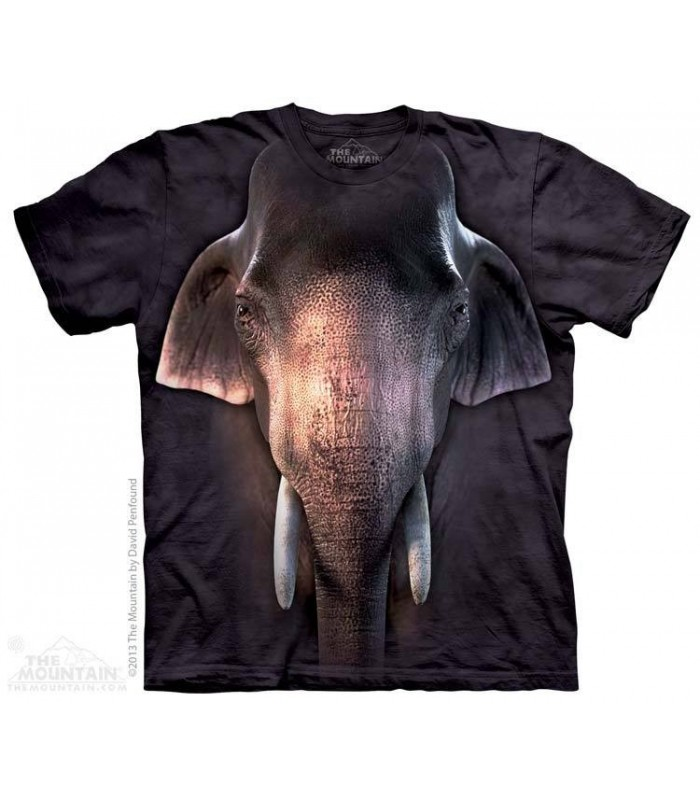 T-shirt Éléphant d'Asie The Mountain