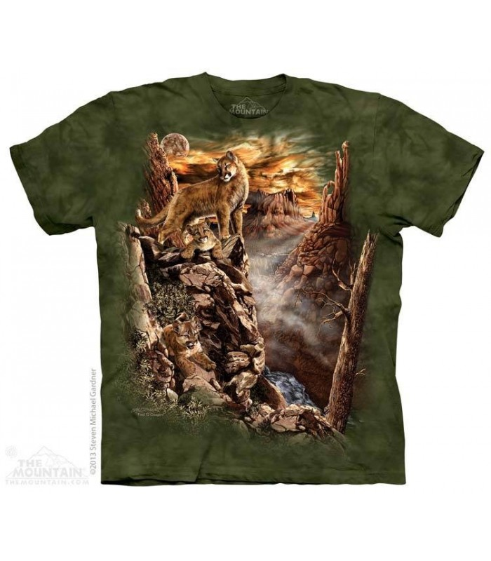 Trouver 12 Cougars - T-shirt animal The Mountain
