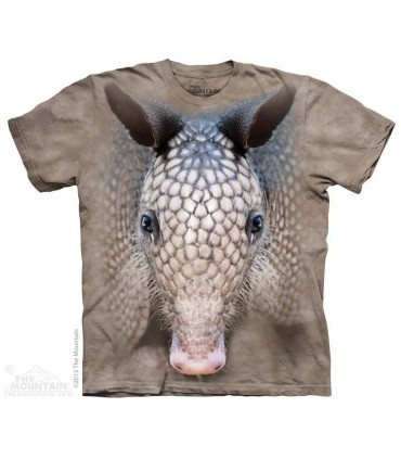 Armadillo Head - Animal T Shirt The Mountain