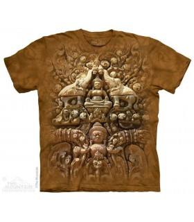 Buddha Wall - Spiritual T Shirt The Mountain