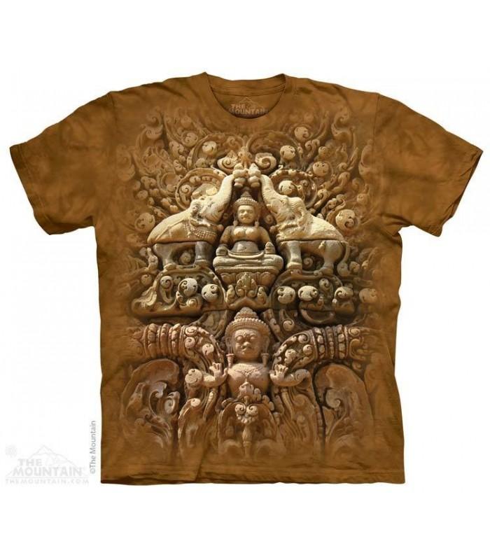 Buddha Wall - Spiritual T Shirt The Mountain