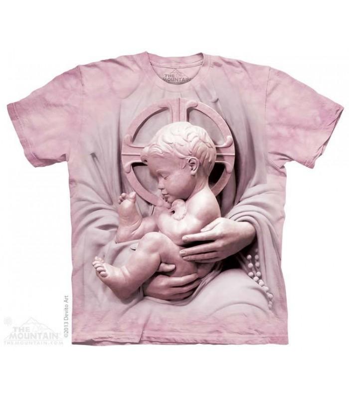Jésus Bébé - T-shirt Spirituel The Mountain