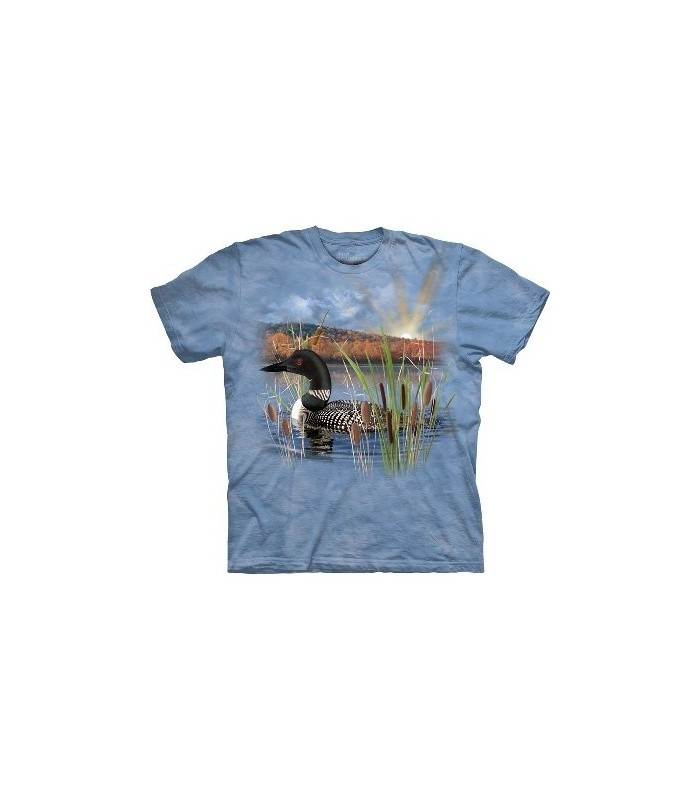 Loon - Birds T Shirt by the Mountain