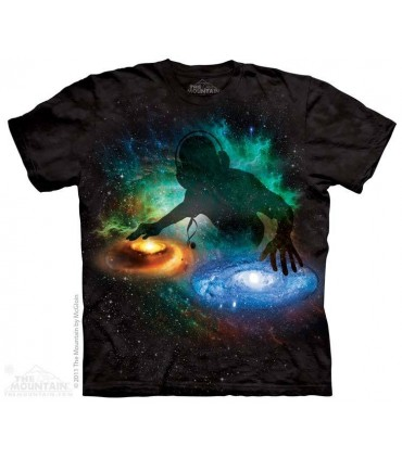 DJ Galactique - T-shirt Espace The Mountain