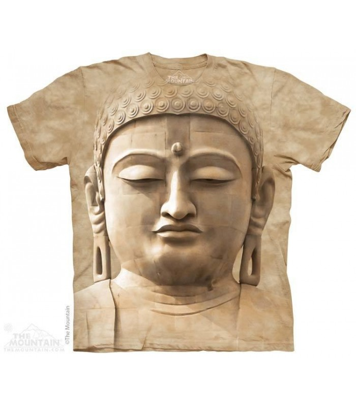 Buddha Portrait - Statue T Shirt The Mountain
