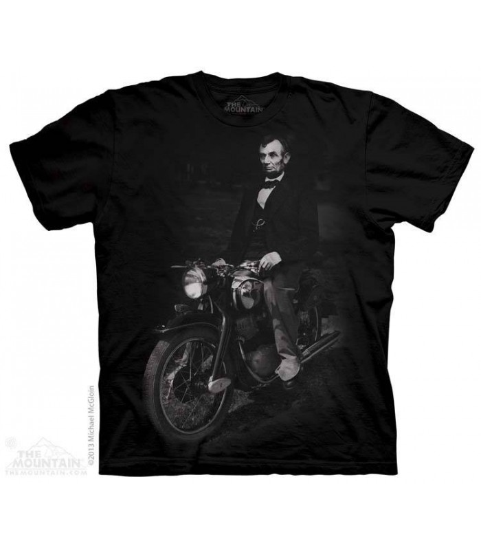 Biker Lincoln - Fantasy T Shirt The Mountain