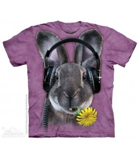DJ HipHop - T-shirt Lapin The Mountain