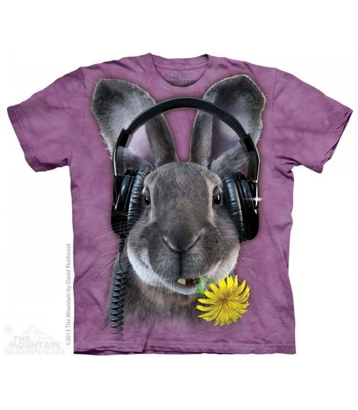 DJ Hiphop - Rabbit T Shirt The Mountain