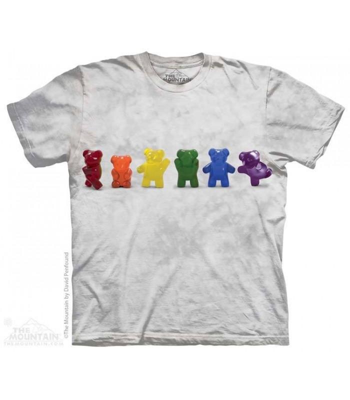 Gummy Line Dance - Humorous T Shirt The Mountain