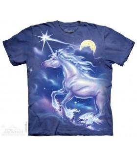 T-shirt Licorne et Etoile par The Mountain
