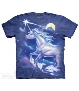 Unicorn Star - Fantasy T Shirt The Mountain