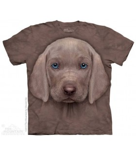 Weimaraner Puppy - Dog T Shirt The Mountain