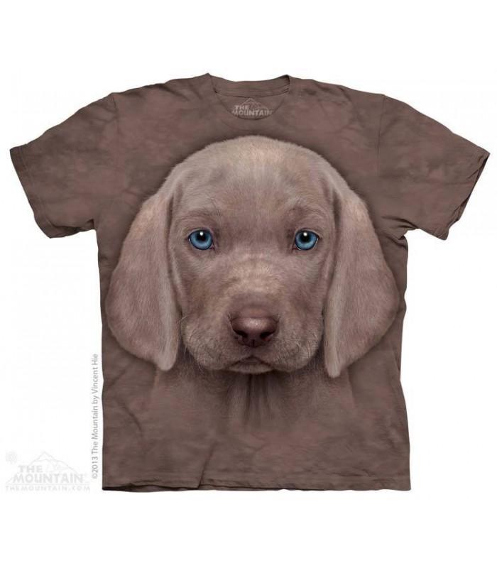 Weimaraner Puppy - Dog T Shirt The Mountain