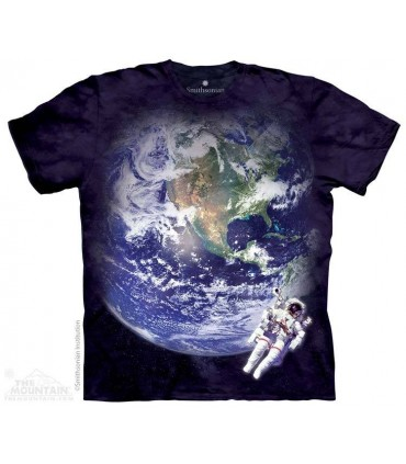 Astro Earth - Space T Shirt The Mountain