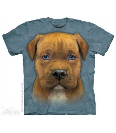 Chiot Pitbull - T-shirt Chien The Mountain