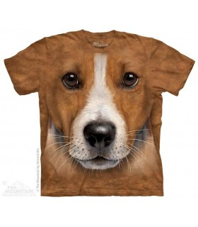 Big Face Jack Russell Terrier - Dog T Shirt The Mountain