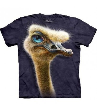 Ostrich Totem - Birds T Shirt by the Mountain
