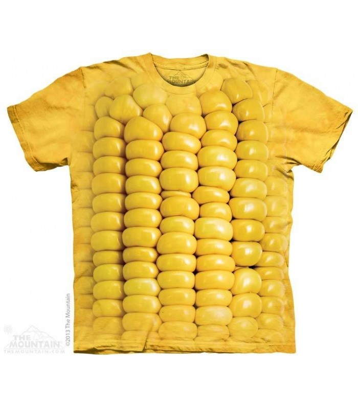Corn on the Cob - Food T Shirt The Mountain