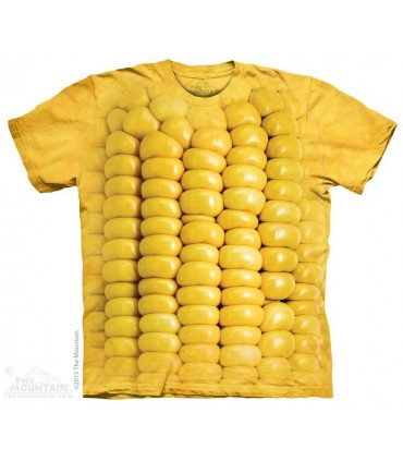 Corn on the Cob - Food T Shirt The Mountain