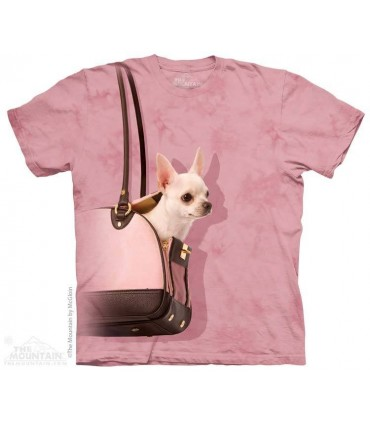 T-shirt Chihuahua en balade par The Mountain