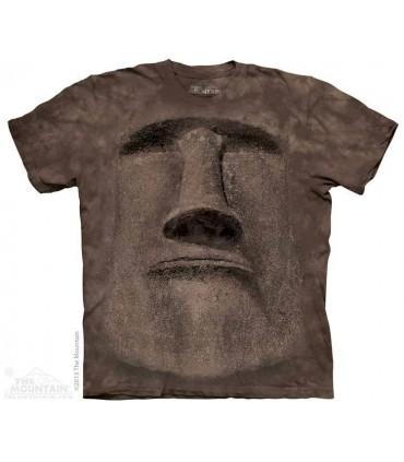 T-shirt Statue Ile de Pâques The Mountain