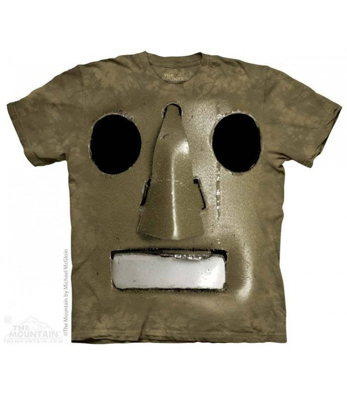 Ancien Robot - T-shirt science fiction The Mountain