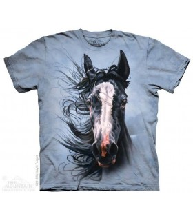 Storm Chaser - Horse T Shirt The Mountain