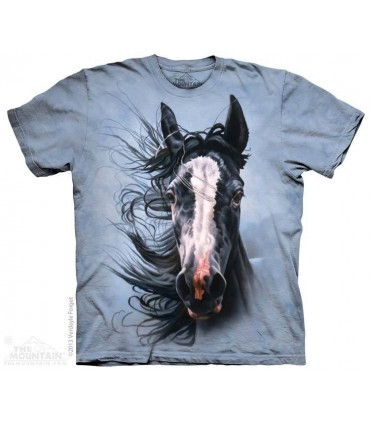 Chasseur de Tempête - T-shirt Cheval The Mountain
