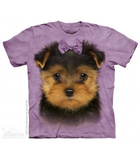 T-shirt Chiot Yorkshire Terrier The Mountain