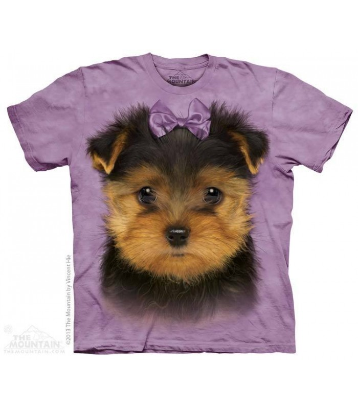 Yorkshire Terrier Puppy - Dog T Shirt The Mountain