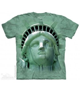 Liberty Head - Statue T Shirt The Mountain