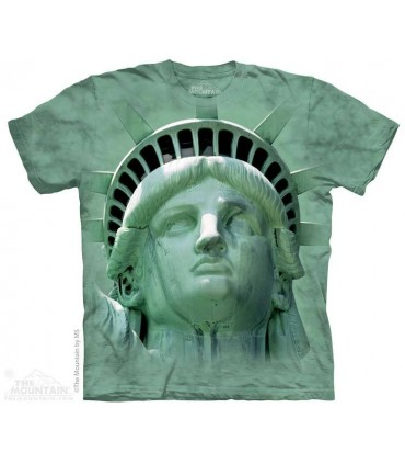 Liberty Head - Statue T Shirt The Mountain