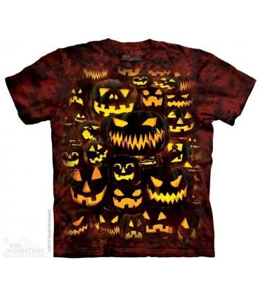 Mur de Lanternes - T-shirt Halloween The Mountain
