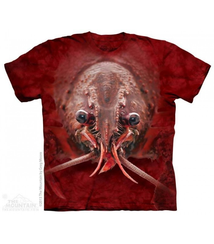 Lobster Face - Aquatic T Shirt The Mountain