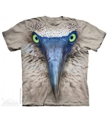 Big Face Booby - Bird T Shirt The Mountain