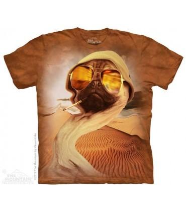 Fear Pug - Dog T Shirt The Mountain