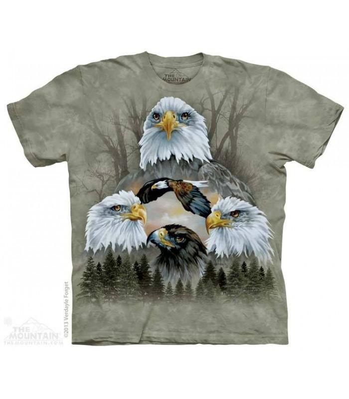 T-shirt 5 Aigles The Mountain