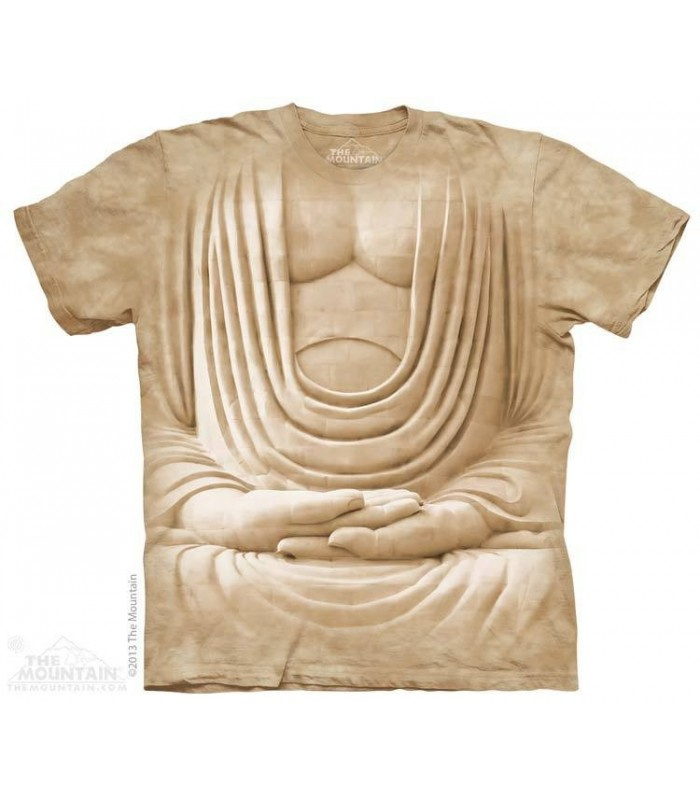 Buste de Buddha - T-shirt spirituel The Mountain