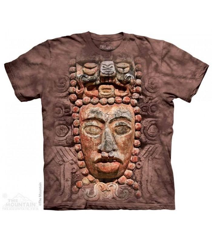 Mayan Wall - Spiritual T Shirt The Mountain