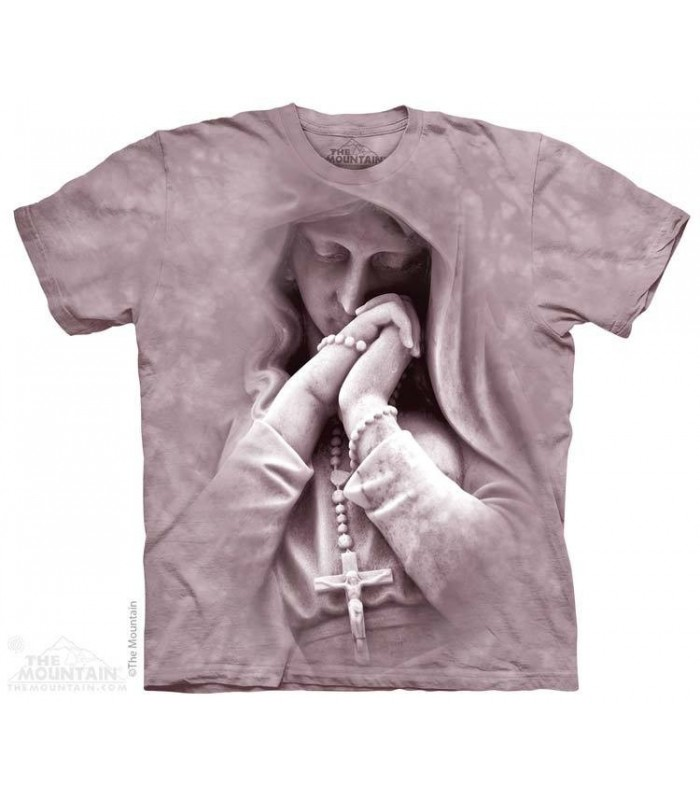 In Prayer - Spiritual T Shirt The Mountain