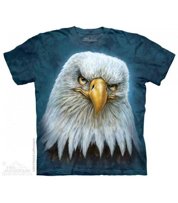 Bald Eagle Totem - Bird T Shirt The Mountain