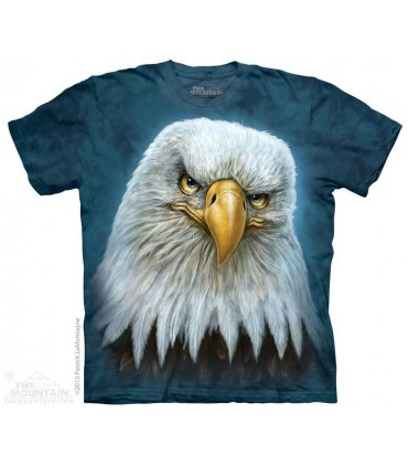 Bald Eagle Totem - Bird T Shirt The Mountain