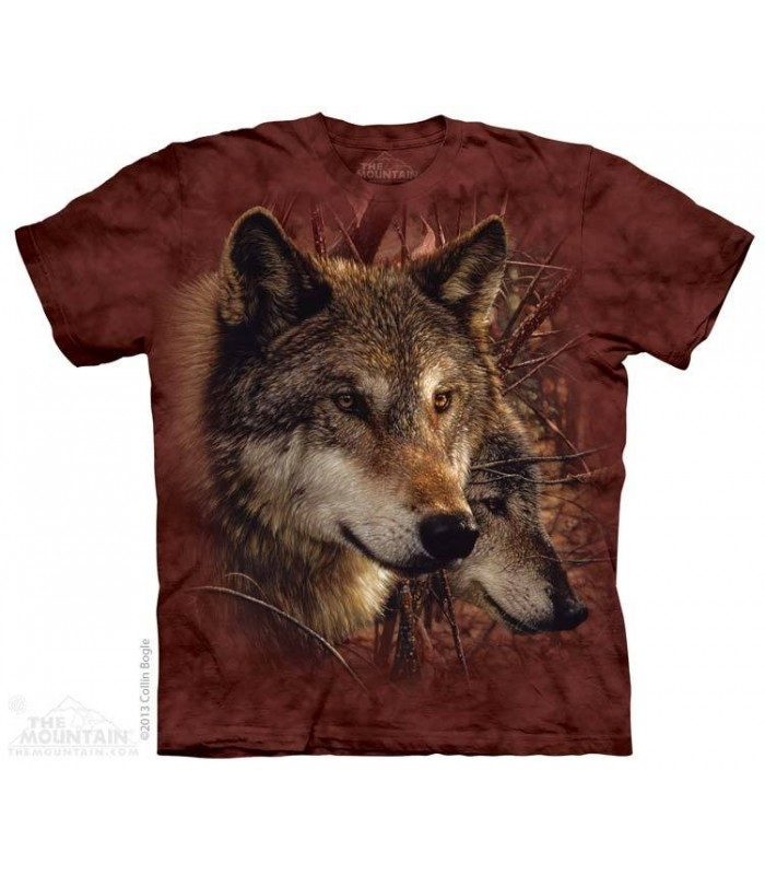 Forest Wolves - Wolf T Shirt The Mountain