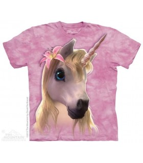 Adorable Licorne - T-shirt Fantasy The Mountain