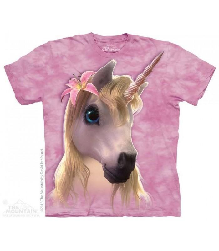 Adorable Licorne - T-shirt Fantasy The Mountain