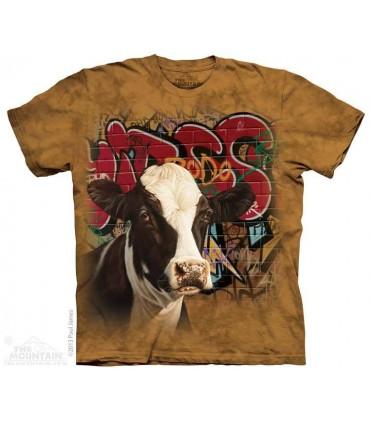 Hip Hop Harriet - T-shirt Vache The Mountain