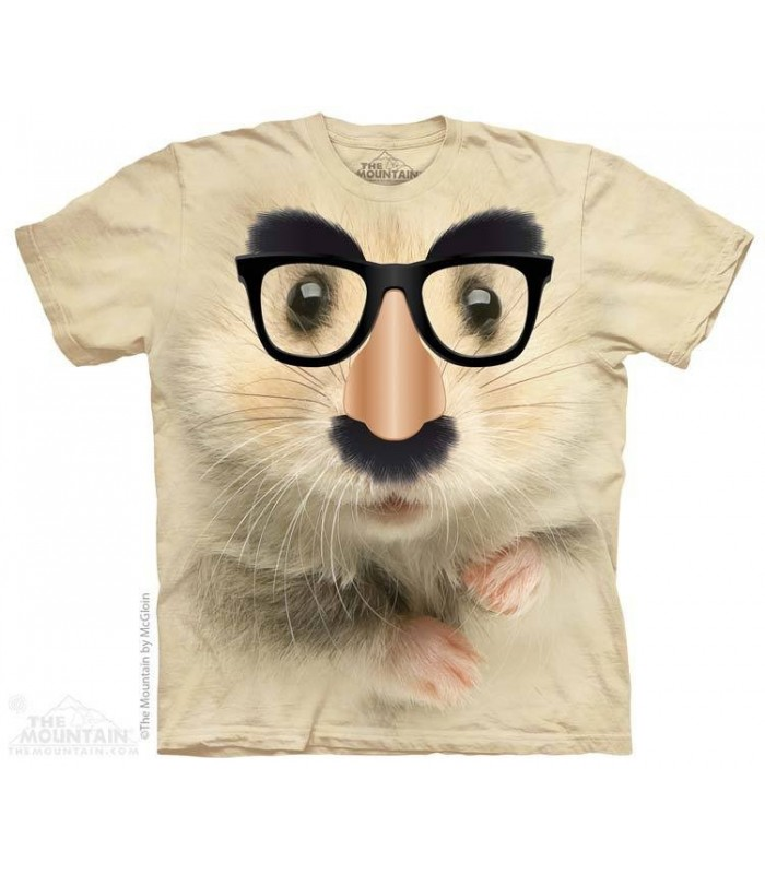 Big Face Hamster of Mystery - Humour T Shirt The Mountain