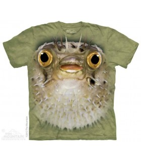 Big Face Blow Fish - Aquatic T Shirt The Mountain