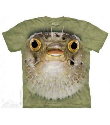 Big Face Blow Fish - Aquatic T Shirt The Mountain