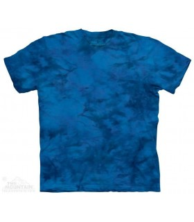 Lueur Bleue - T-shirt tacheté The Mountain